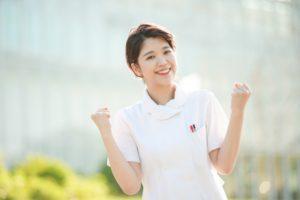 看護師の笑顔